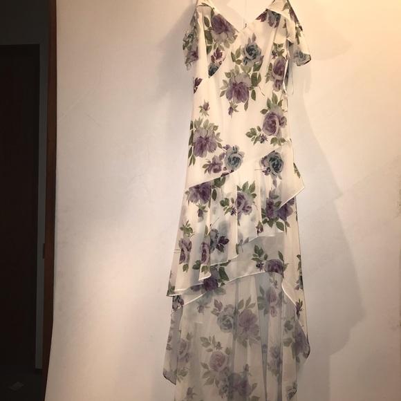 🌸Le Chateau Floral Chiffon Gown